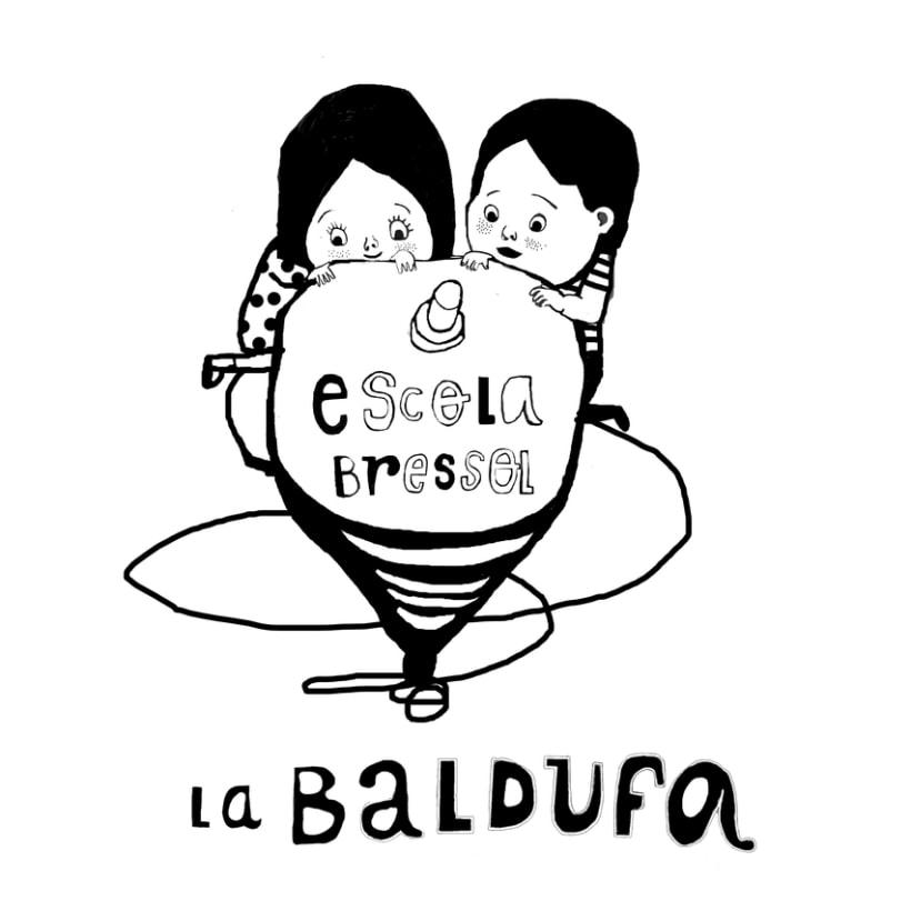 posicionado para camiseta de la llar d'infants La Baldufa, Girona 5