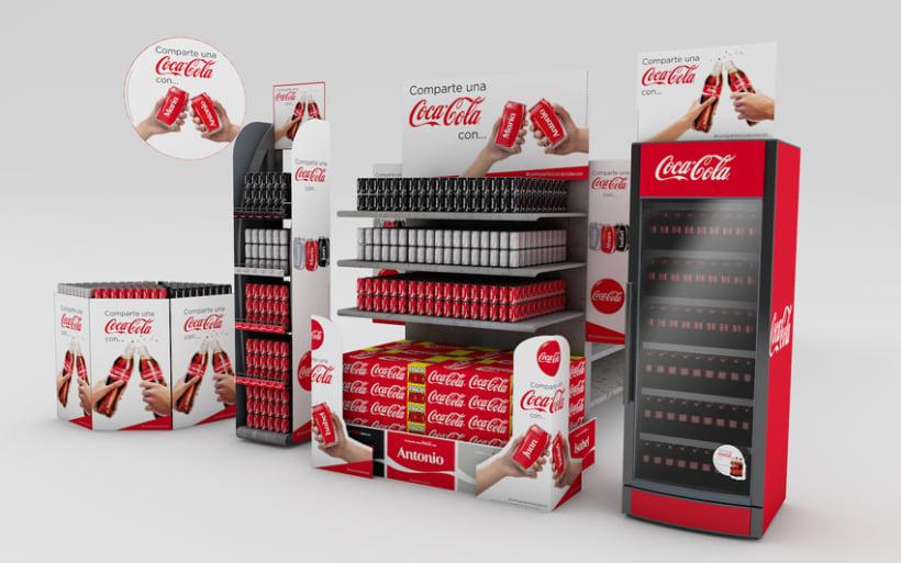 Comparte una Coca-Cola 0