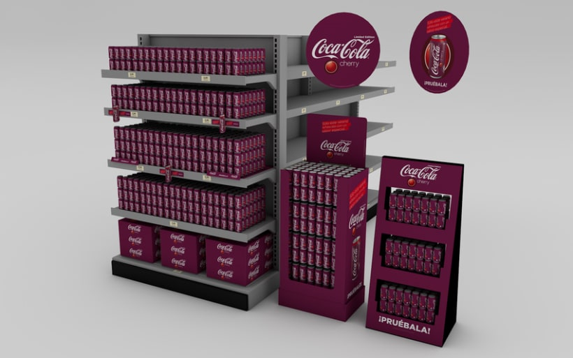 Lanzamiento Coca-Cola cherry 1