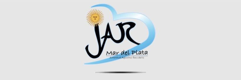 Diseño logotipo J.A.R. Mar de Plata 0
