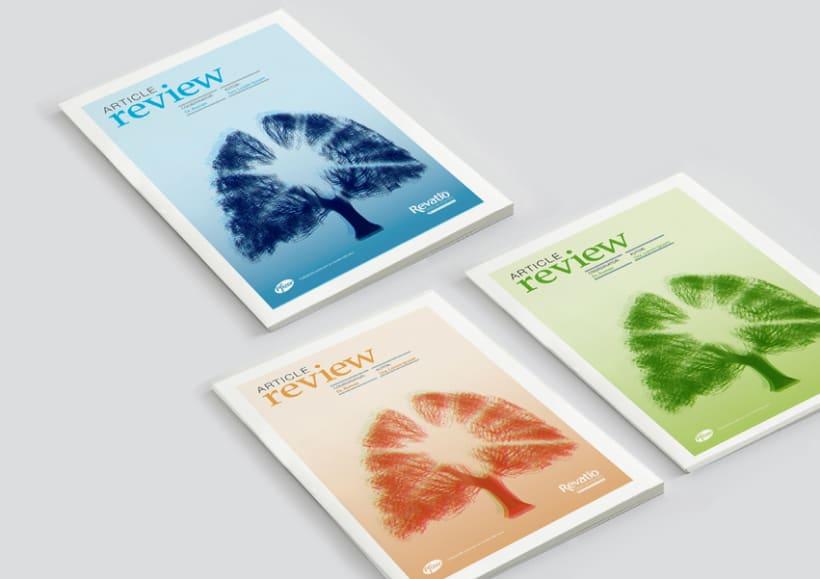Diseño editorial para una colección de artículos 0
