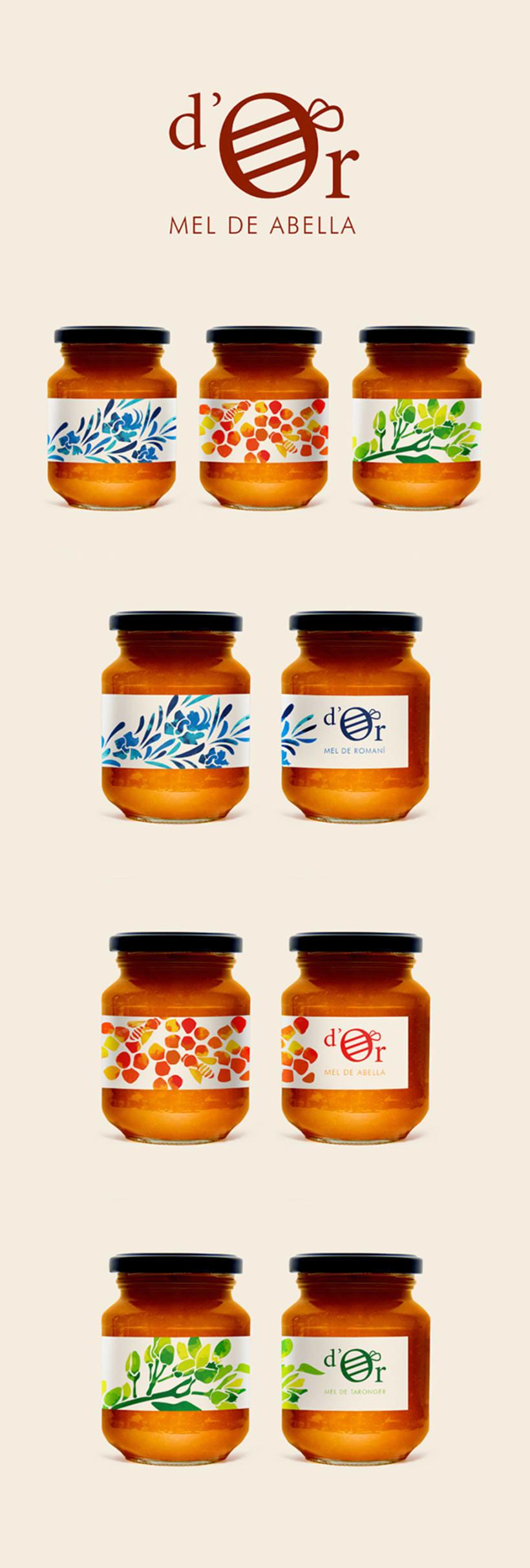 Miel d'Or | Branding & Packaging -1