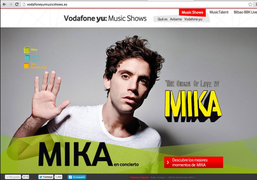 Ana - Vodafone Yu: Music shows -1