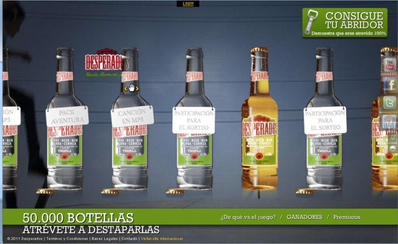 Ana - Cervezas Desperados 1