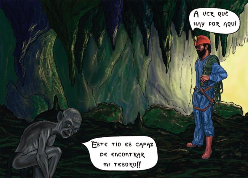 Cómic. Ilustración digital 1