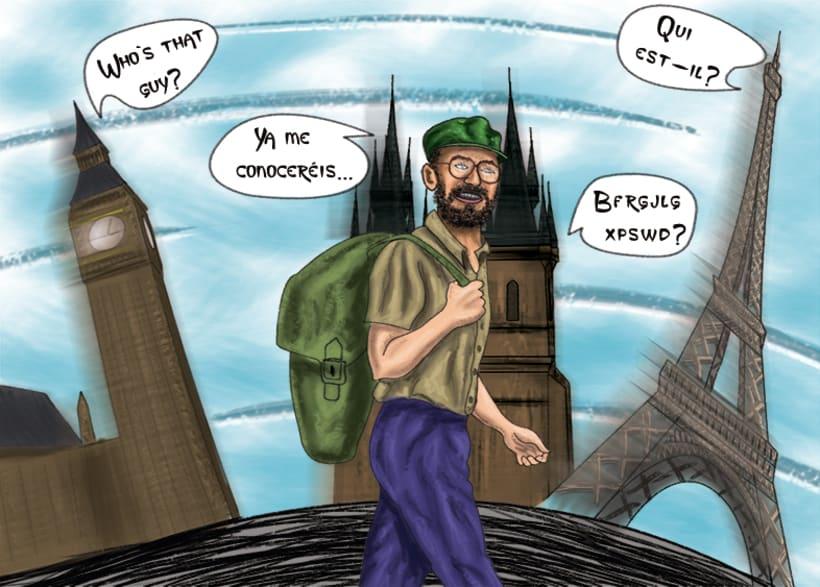 Cómic. Ilustración digital 2