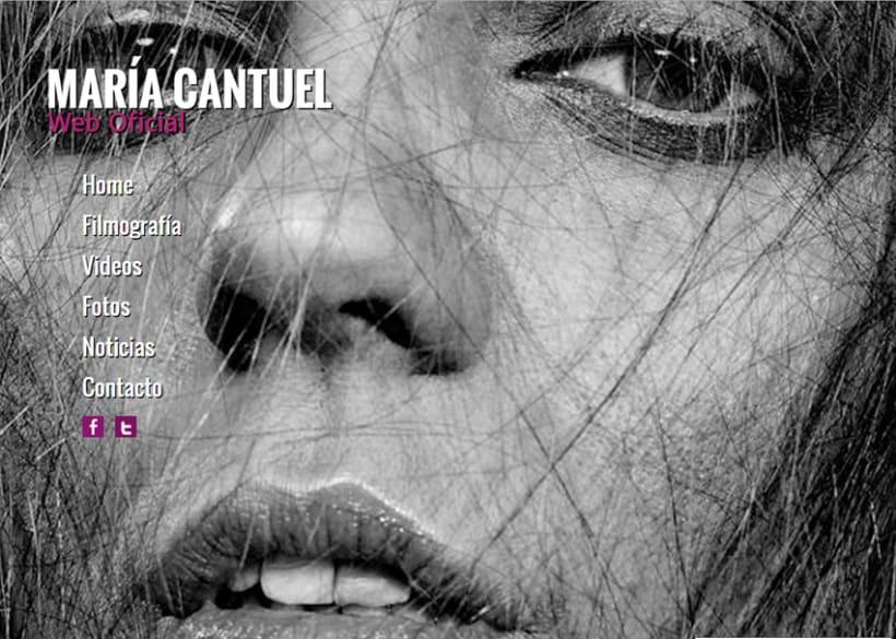 María Cantuel: Official Site 3