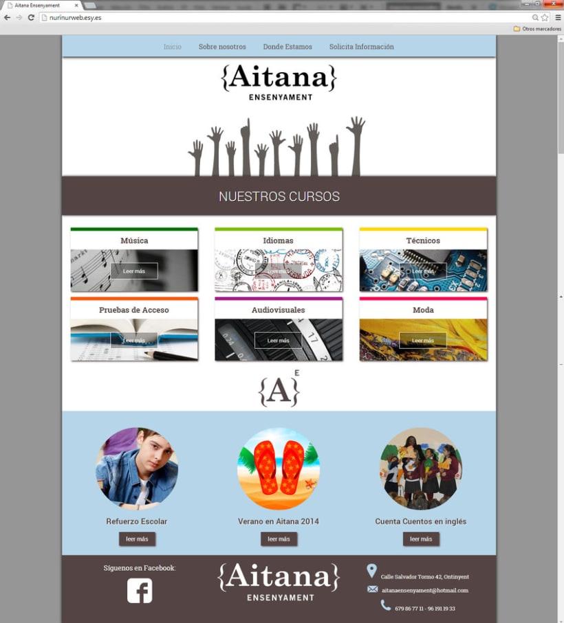 Web Aitana Ensenyament 0