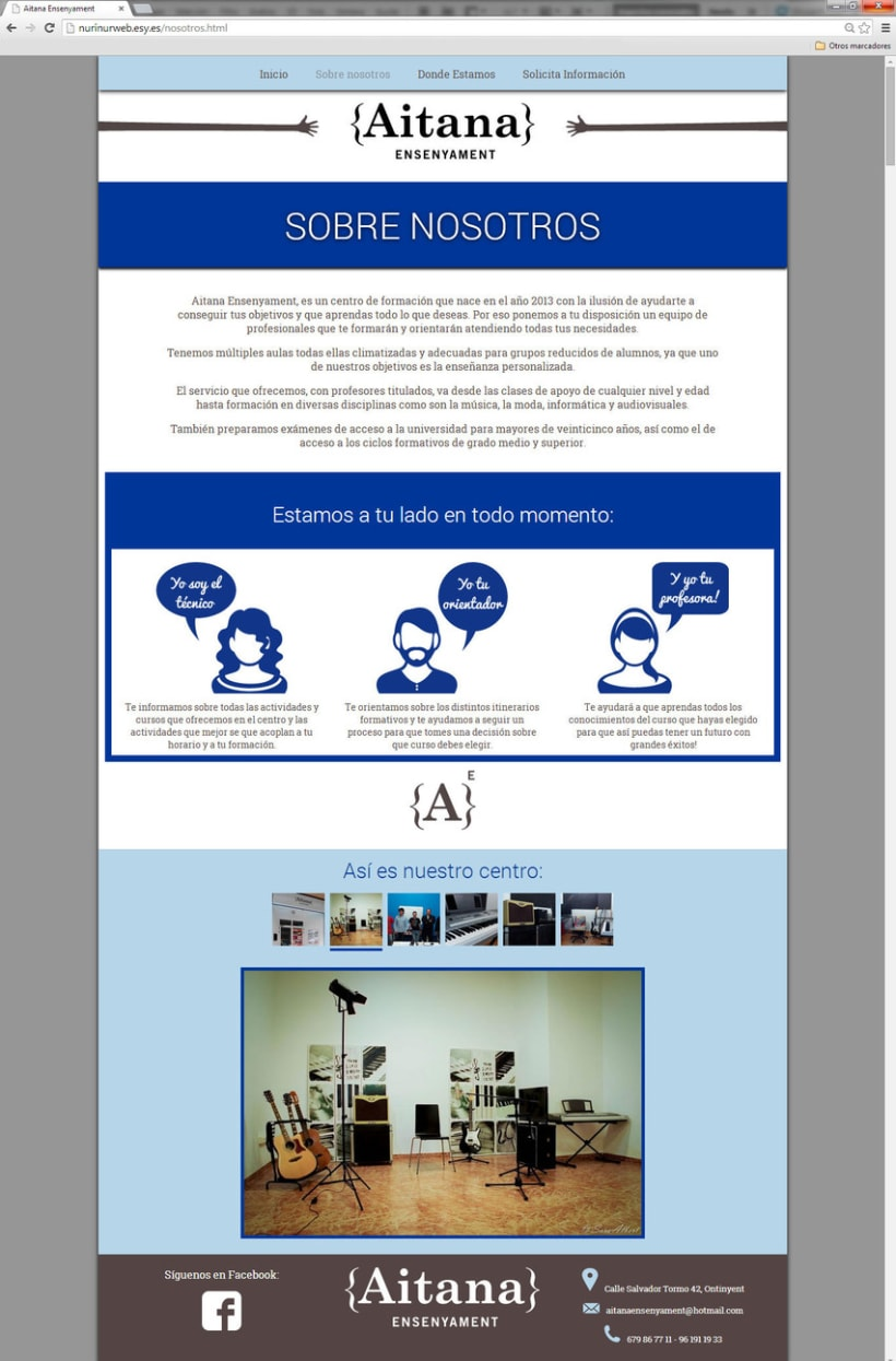 Web Aitana Ensenyament 2