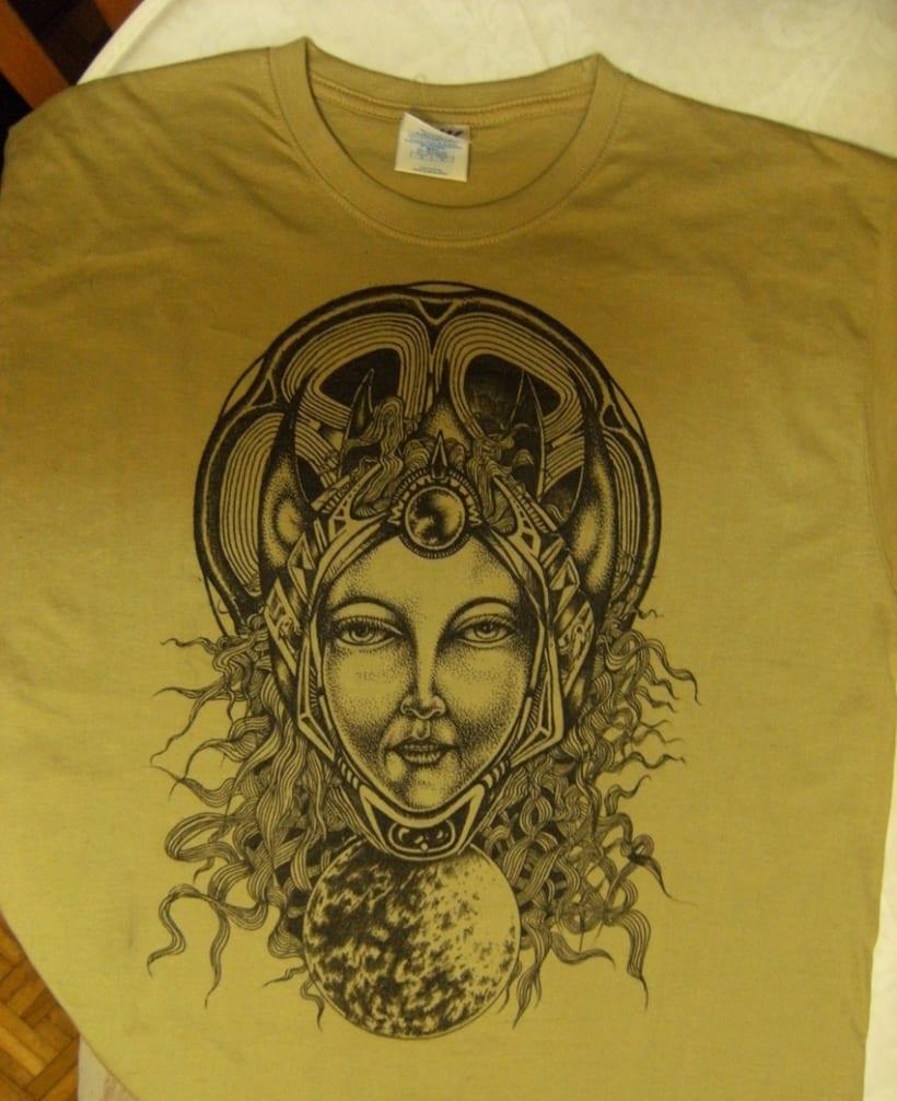 Pintando camisetas 2