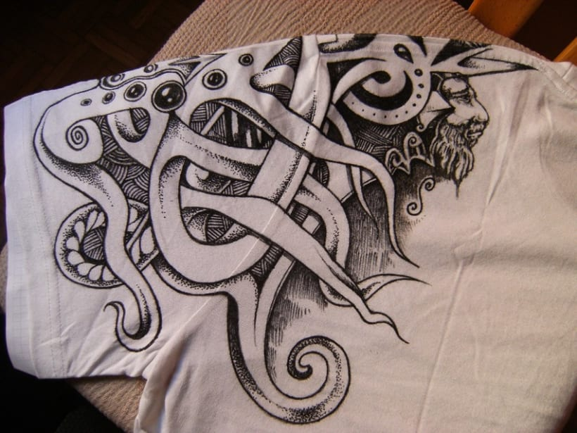 Pintando camisetas 3