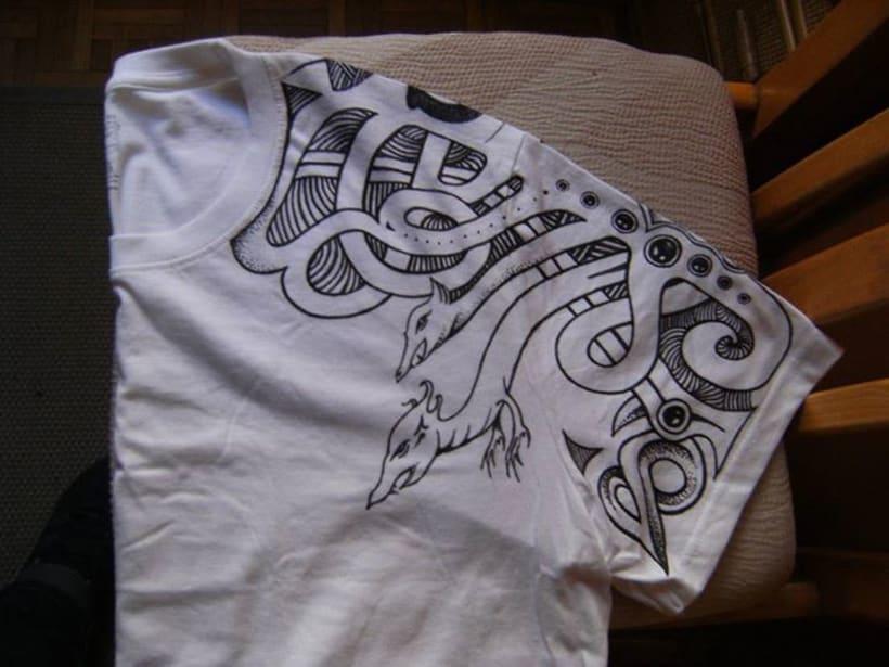 Pintando camisetas 4