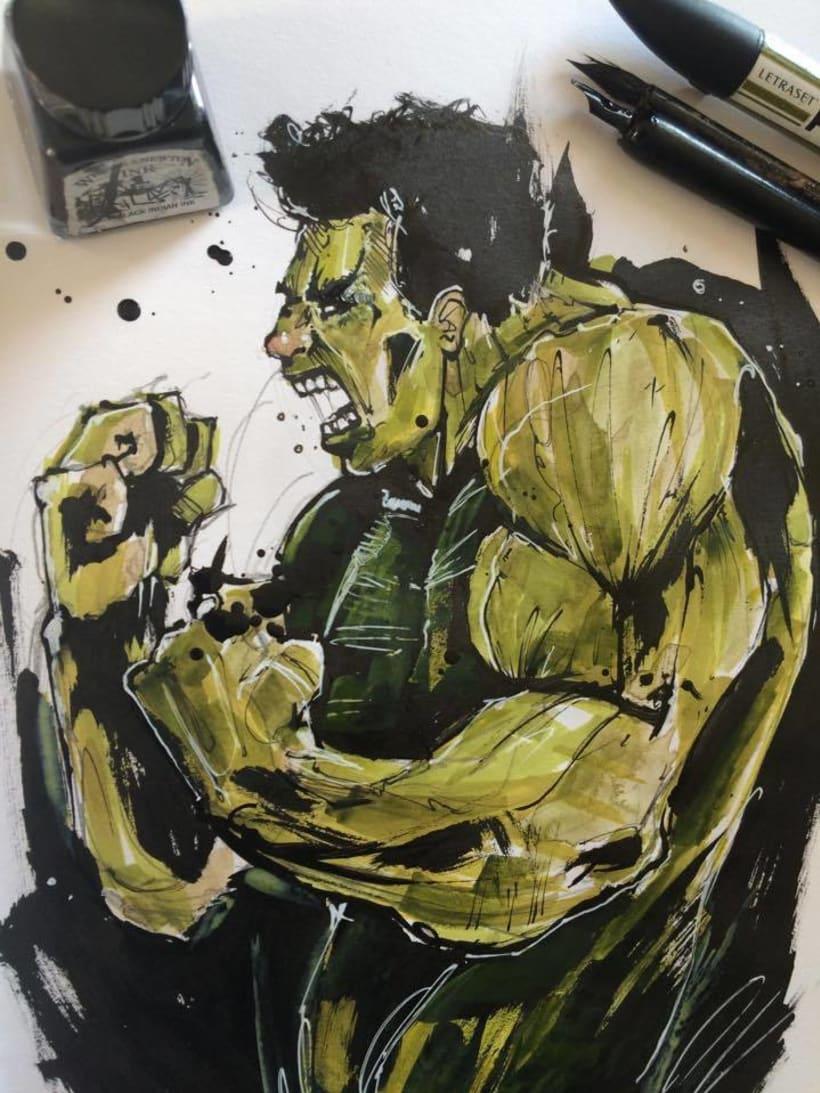 Ink Hulk -1