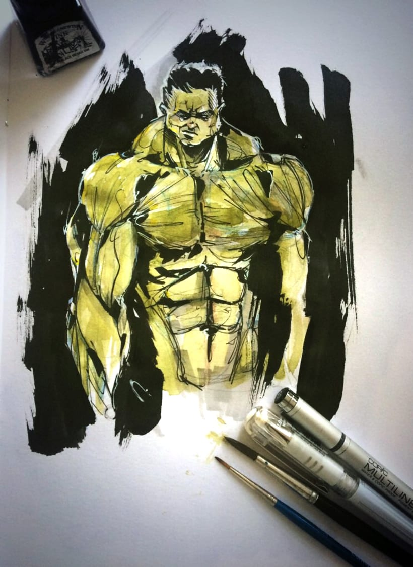 Ink Hulk 0