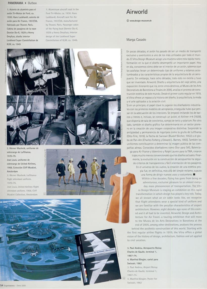"""Airworld"" Reportaje Diseño Aviación 0"