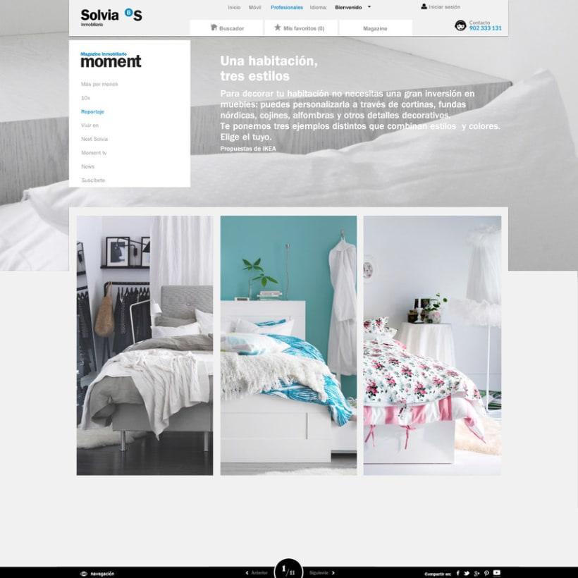"Revista ""Moment"" online + Newsletter 1"