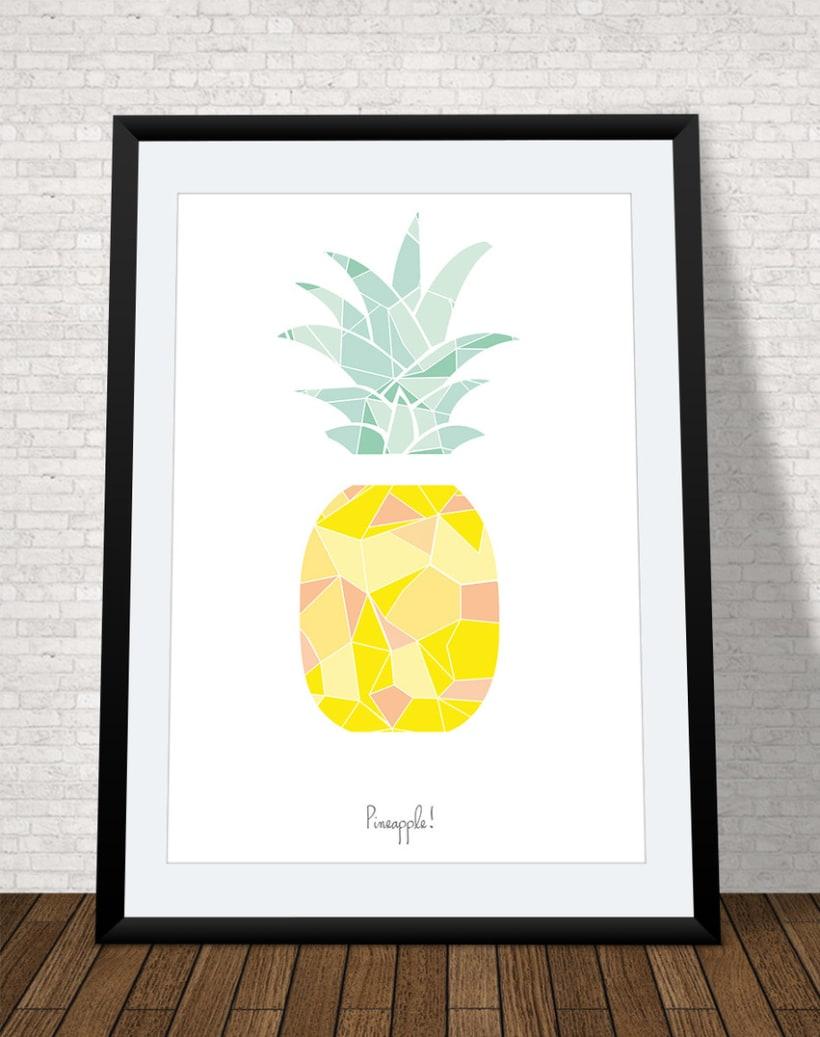 Lámina pineapple -1