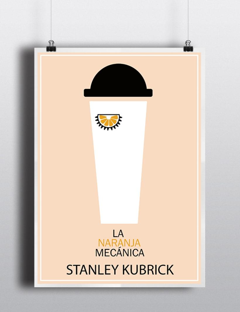 Poster de La Naranja Mecánica -1