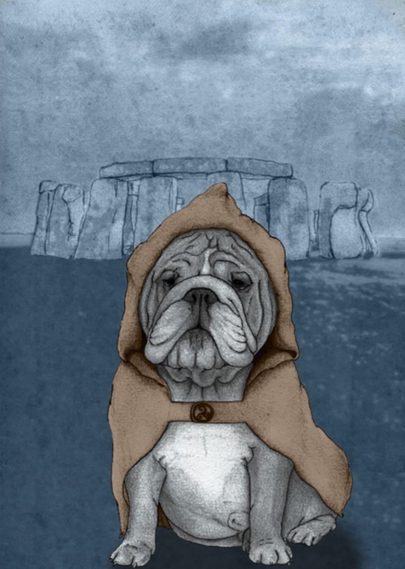 Perros con monumentos históricos 8