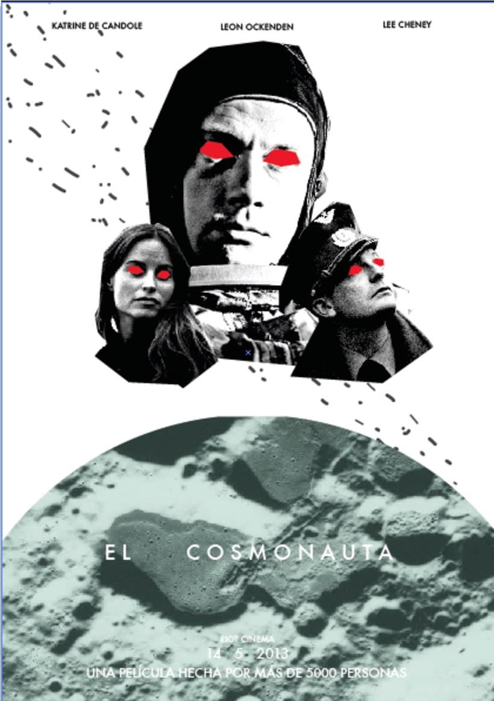Cartel ficticio El Cosmonauta -1