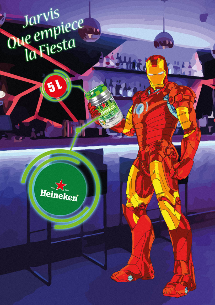 Iron Man Heineken 0