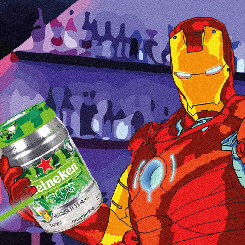 Iron Man Heineken 1