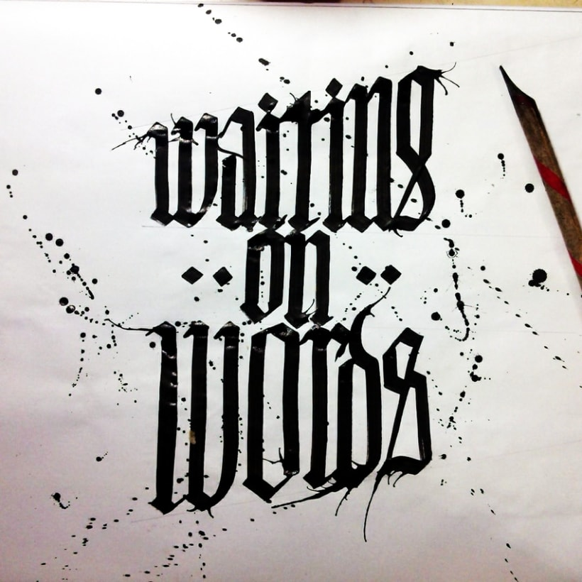 Caligrafía / Hand lettering 1