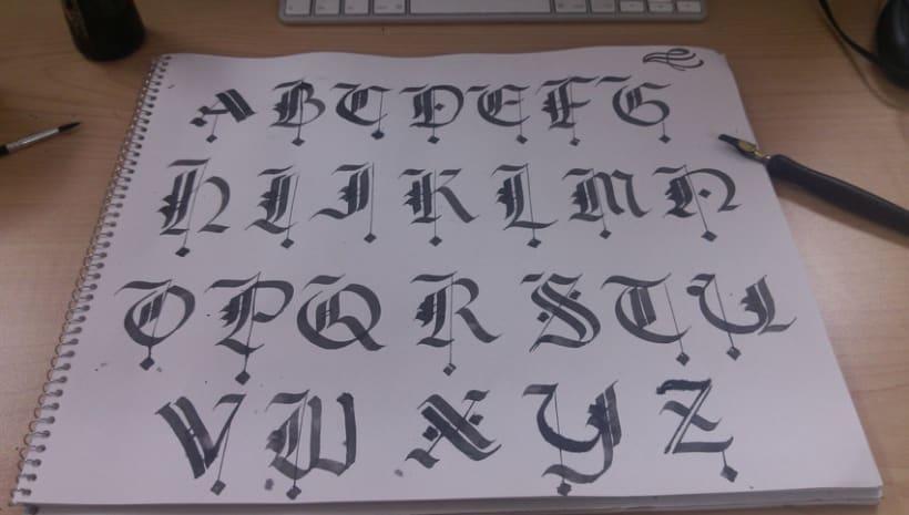 Caligrafía / Hand lettering 2