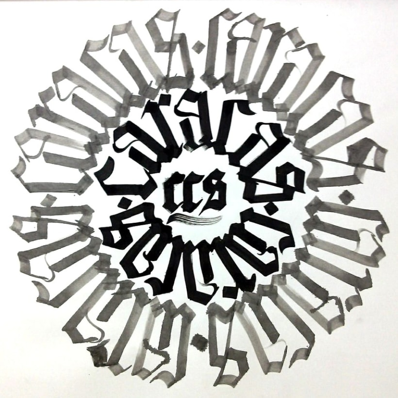 Caligrafía / Hand lettering 4