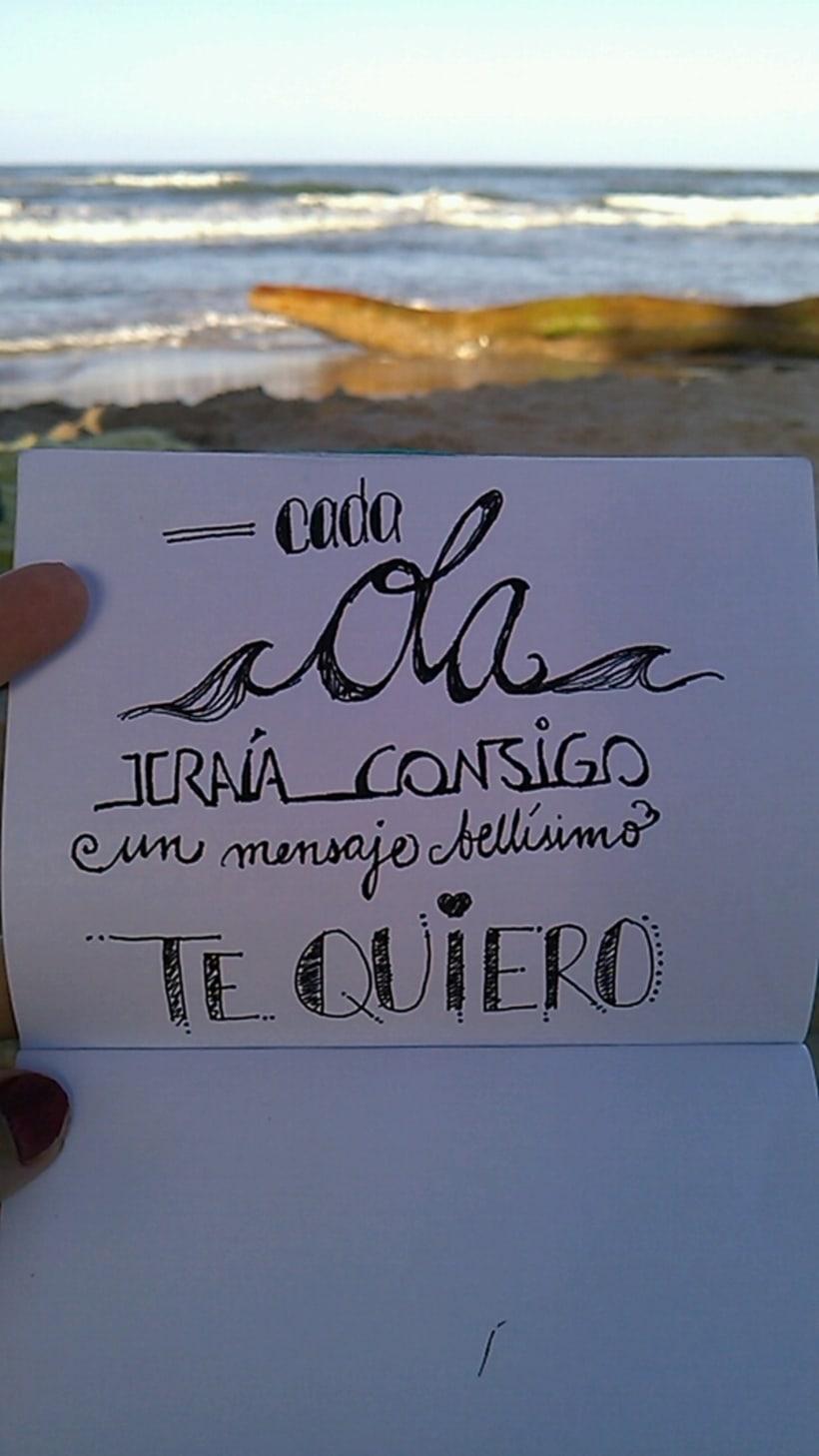 Caligrafía / Hand lettering 10