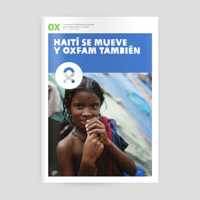 OX, La revista de Oxfam -1