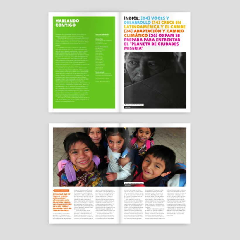 OX, La revista de Oxfam 0