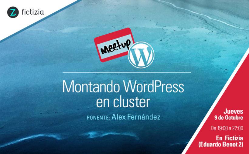 MeetUp de WordPress Madrid en Fictizia 0