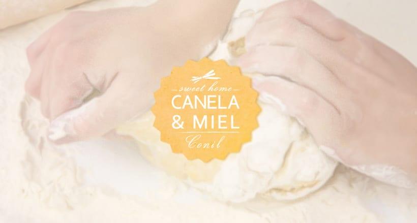 """IDENTIDAD CORPORATIVA """"CANELA & MIEL"""" 0"""