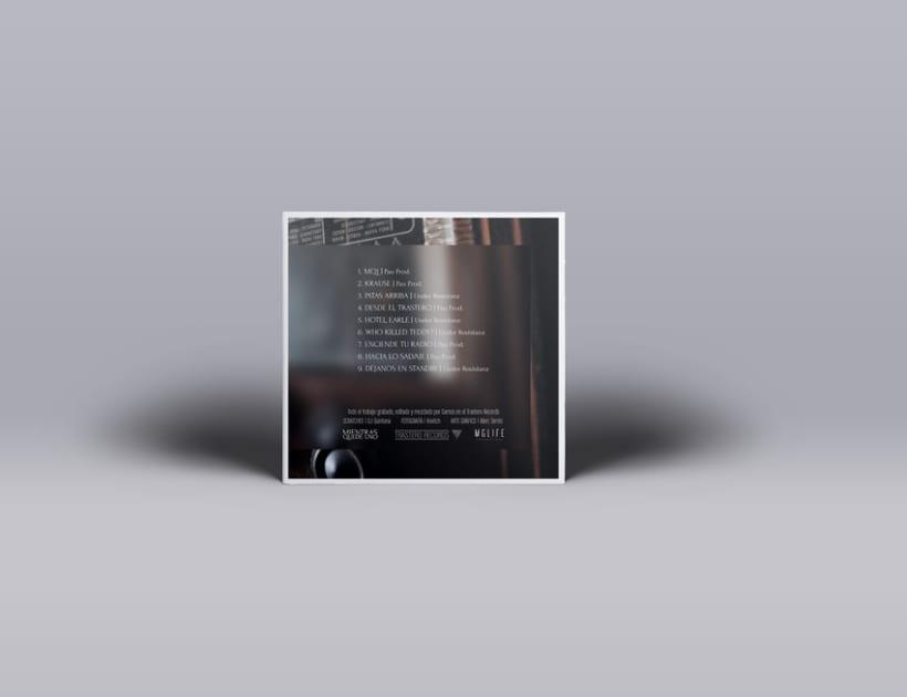 """""""Mientras quede uno"""" Album cover 2"""