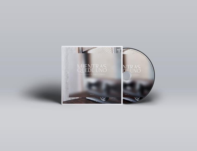 """""""Mientras quede uno"""" Album cover 1"""