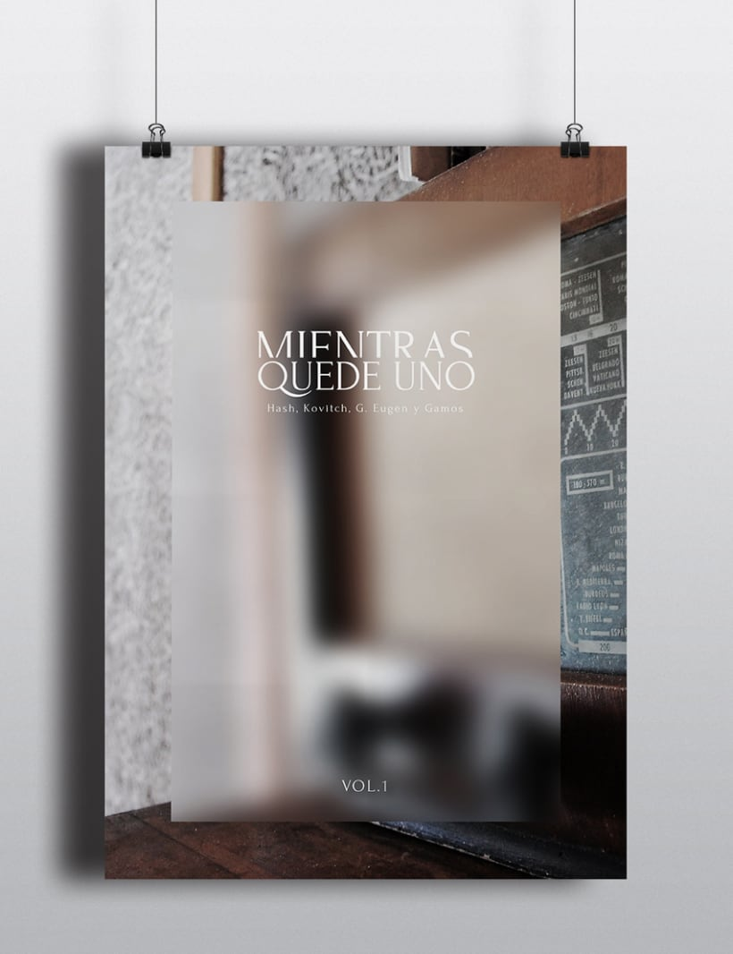 """""""Mientras quede uno"""" Album cover 3"""