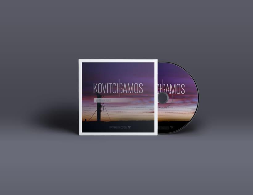 """""""Mirando al cielo"""" Album cover 1"""