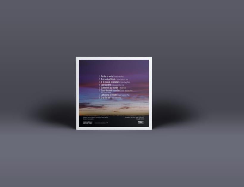 """""""Mirando al cielo"""" Album cover 2"""