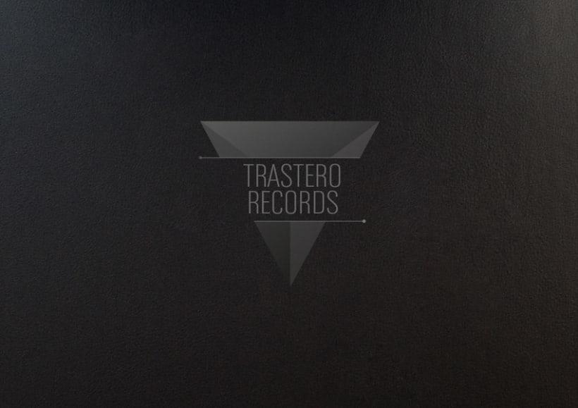 """Trastero Records"" Logo 2"