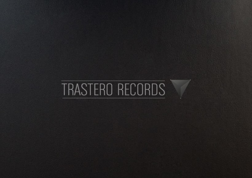 """Trastero Records"" Logo 1"