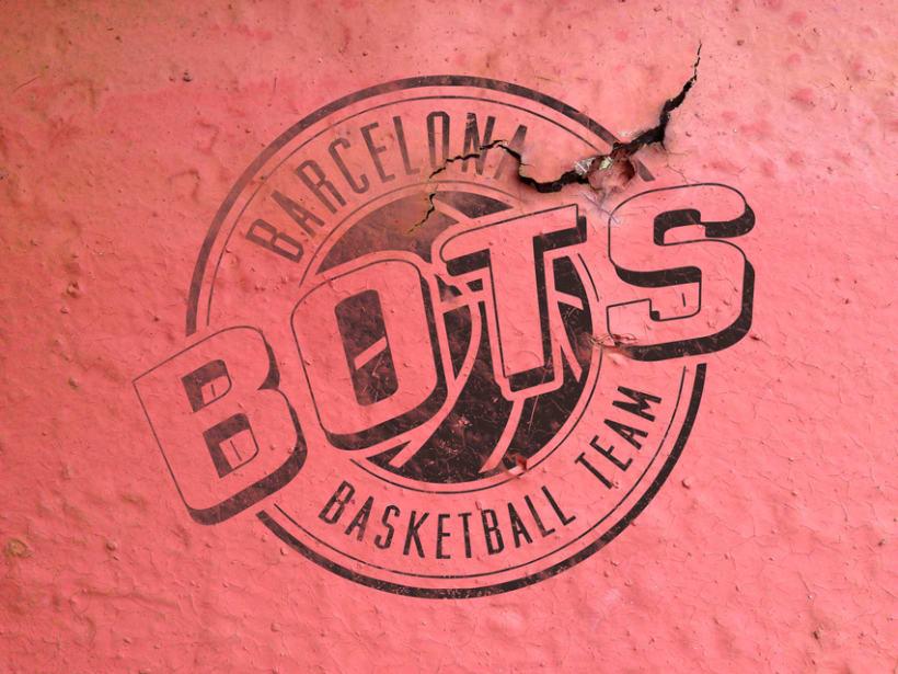 Logotipo Bots - Basketball Team 0