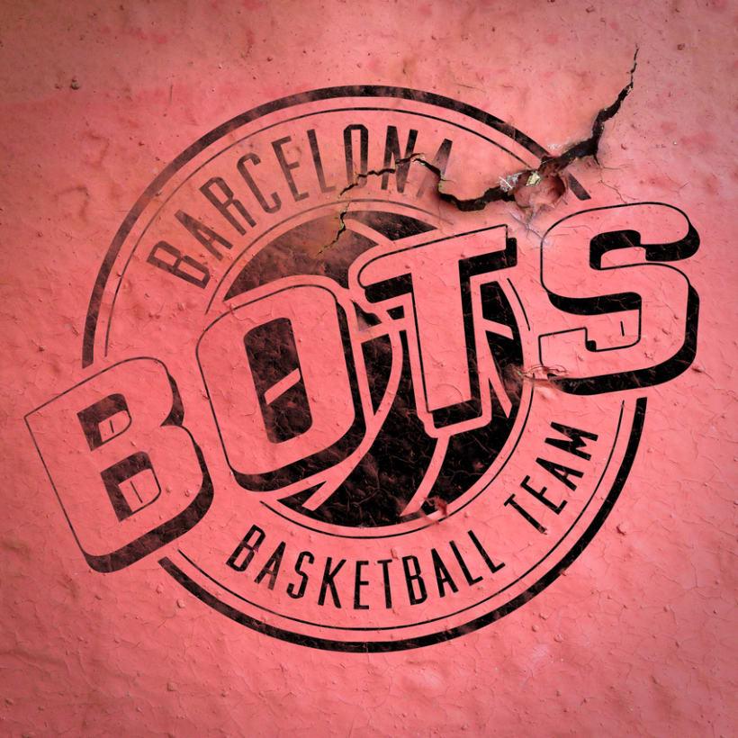 Logotipo Bots - Basketball Team 1
