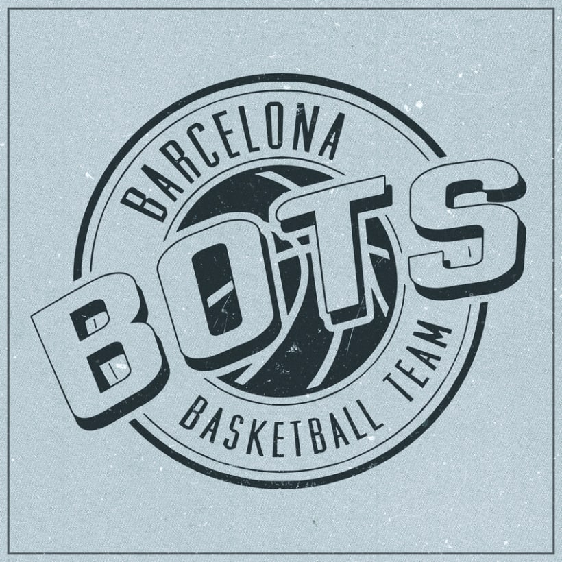 Logotipo Bots - Basketball Team 2