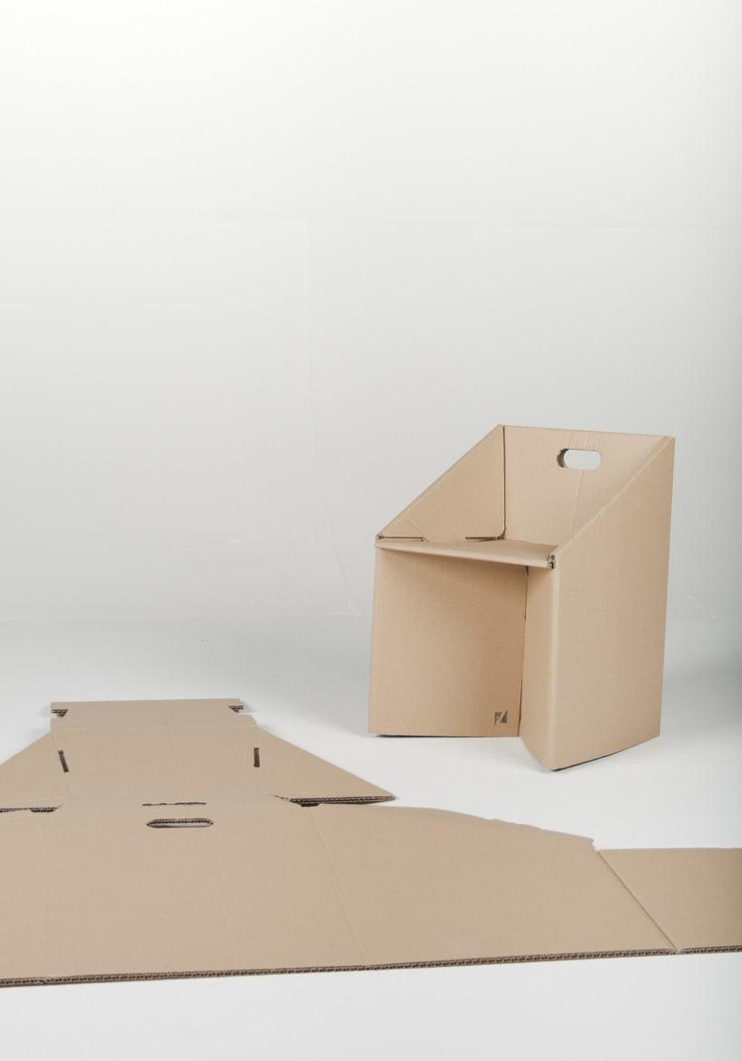 Carton Chair 1