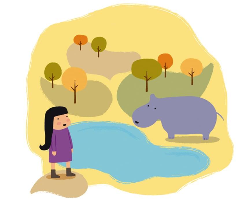 Ana y el zoo 1