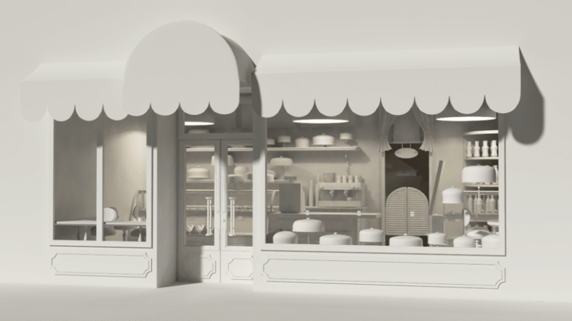 Pastry shop 2
