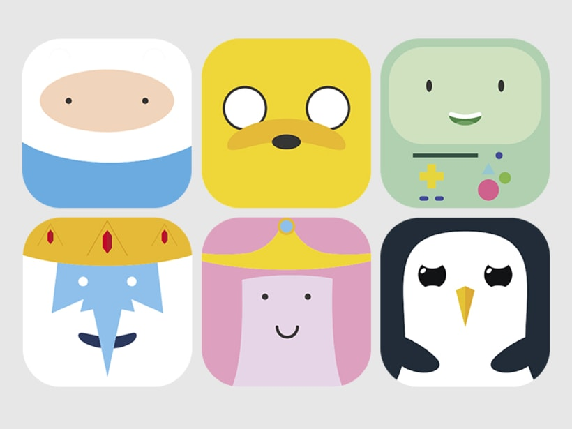 Adventure Time MacOSX icons 0