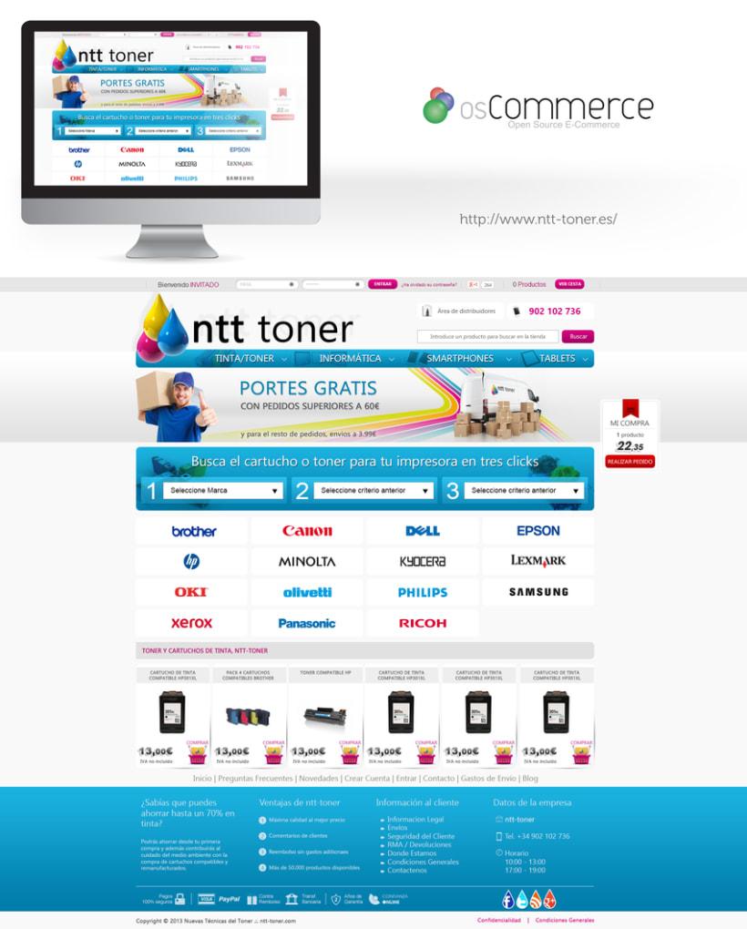 Tienda on-line ntt-toner 1