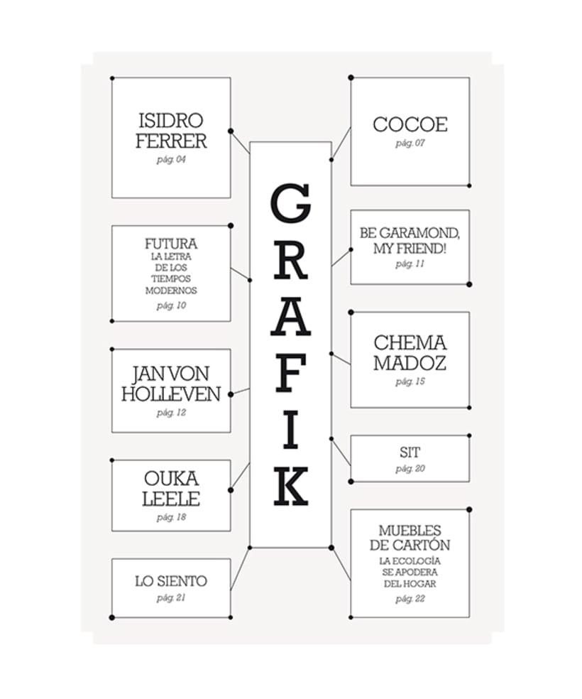 GRAFIK MAGAZINE 1